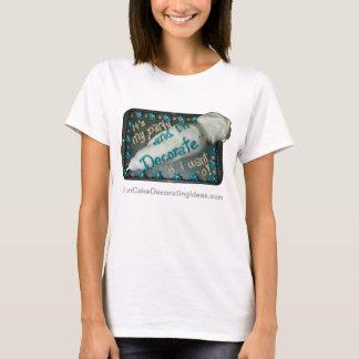Spaß-Kuchen-verzierenideen - T-Shirt