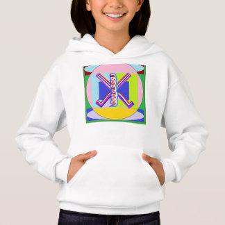 SPASS künstlerische Symbole Hoodie