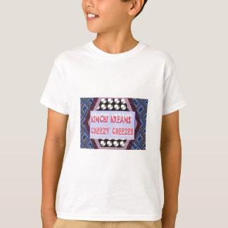 Spaß-NahrungsmittelKochs-Shirts Kimchi käsiges T-Shirt