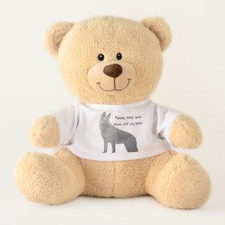 Spaß-Schäferhund Teddy