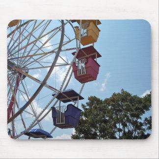 Spaß setzt Zeit Riesenrads Mousepad fest