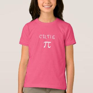 Spaß-Süsse-Torten-PU-Tagesniedliche Mädchen-rosa T-Shirt