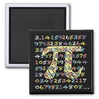 Spaß und bunter Tafel-Ähnlicher PU berechnet Quadratischer Magnet