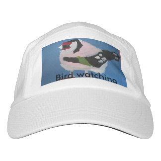 Spaß-Vogelaufpassenhut des Goldfinch abstrakter Headsweats Kappe