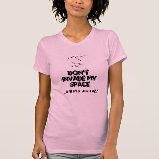 Spaßantimitteilung der sexuellen Belästigung der T-Shirt