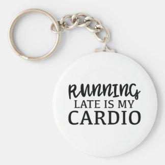 Spät laufen ist mein Herz Schlüsselanhänger