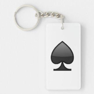 Spaten - Emoji Schlüsselanhänger