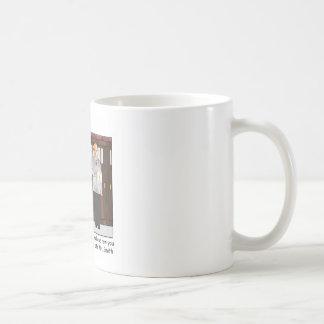 Später Herr Smith Cartoon Mug Kaffeetasse