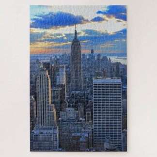 Später Nachmittag NYC Skyline als