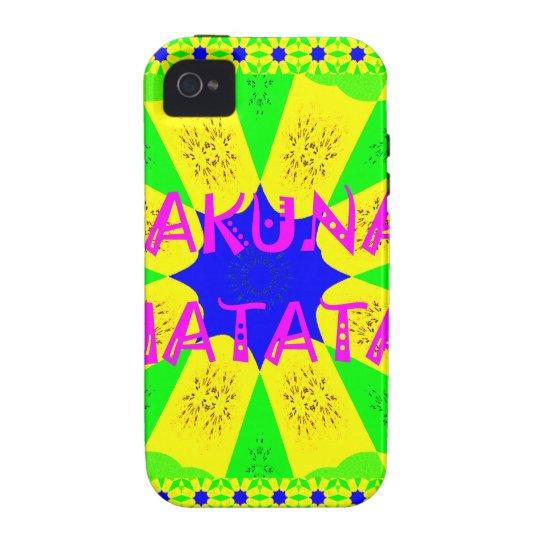 Spätester Hakuna Matata schöner fantastischer iPhone 4/4S Case