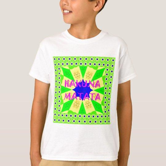 Spätester Hakuna Matata schöner fantastischer T-Shirt