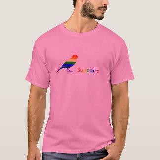 Spatzen-homosexuelle Unterstützung! T-Shirt