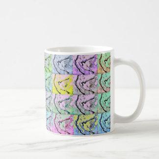 Spatzen-Pop-Kunst-Tasse Tasse