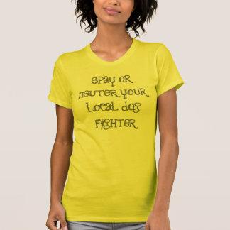 spay oder neutralisieren Sie Ihren lokalen T-Shirt