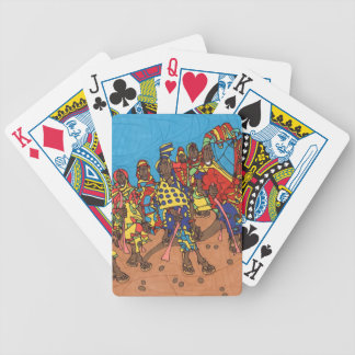Spazierstock Bicycle Spielkarten