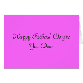 Special-Karte der Vatertag Grußkarte