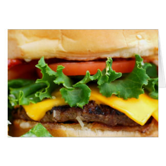 Speck-Cheeseburger Karte