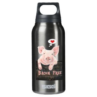 Speck gibt Piggy frei Isolierte Flasche
