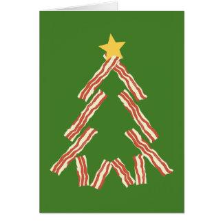 Speck-Weihnachtsbaum Karte