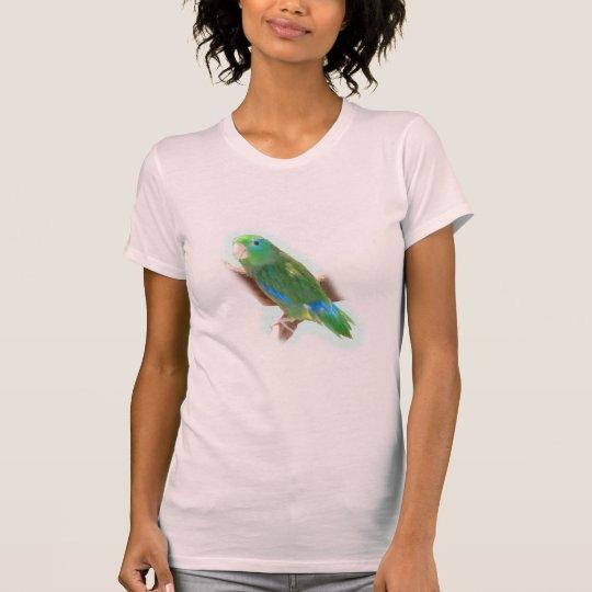Spectacoed Parakeet T-Shirt