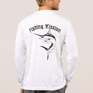 Speerfisch-Fischen-Auftrag-Shirt T-Shirt