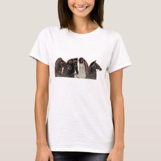 Spektrum - altgriechische Chariotpferde T-Shirt