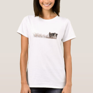 Spektrum - altgriechischer Chariot und Pferde T-Shirt