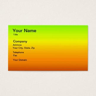 Spektrum der horizontalen Farben -3 Visitenkarte