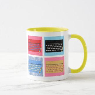 Spektrum der Pop-Kunst-ZX Tasse