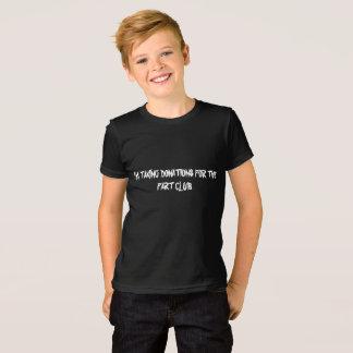 Spenden für die Furz nehmend, schlagen Sie T-Shirt