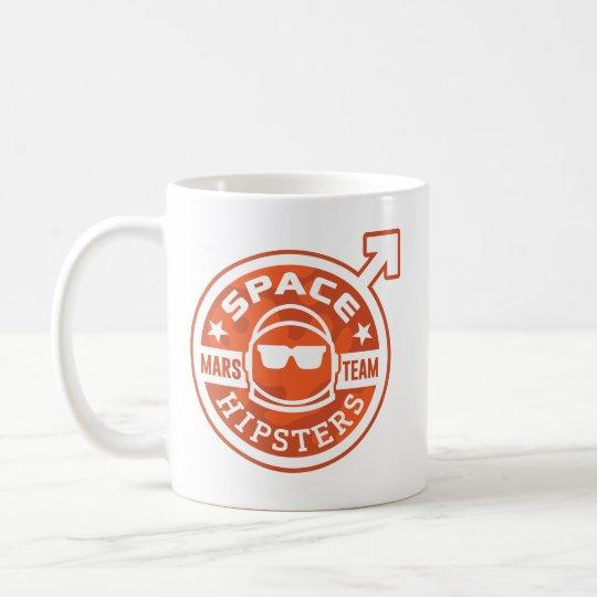 Sperren Sie Hipsters® MARS-TEAM 11 Kaffeetasse