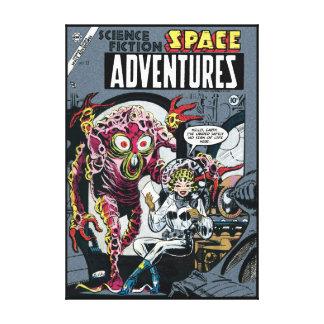 Sperren Sie Sci lustiger 50er der Abenteuer #12 Leinwanddruck