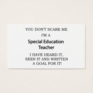 Spezieller Ed. Lehrer Visitenkarte