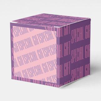Spezielles Geschenk-lila rosa Geschenkschachtel
