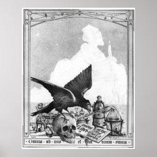 Sphinx und die große Pyramide Poster