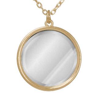 Spiegel-Anhänger-Halskette Halskette Mit Rundem Anhänger