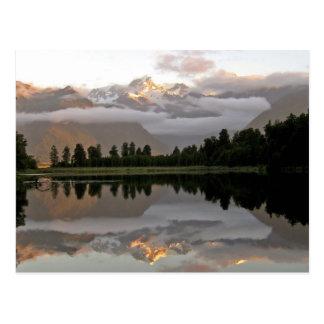 Spiegel-Reflection See Matheson Neuseeland Postkarte