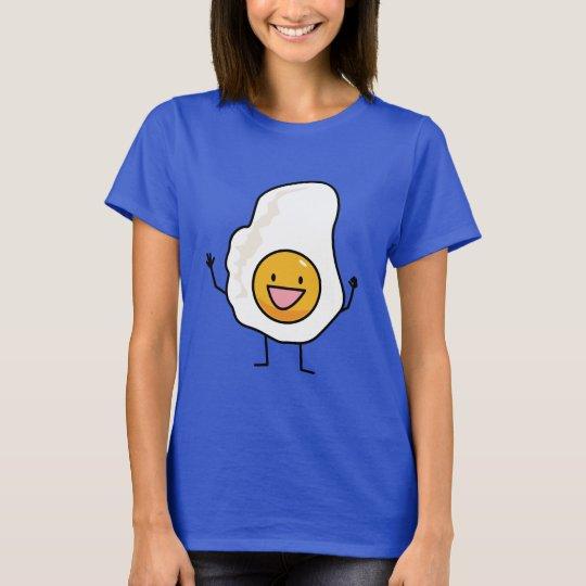 Spiegelei-glückliches Ei-Frühstück T-Shirt