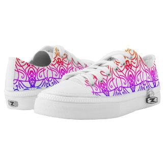 Spiegelfarben Niedrig-geschnittene Sneaker