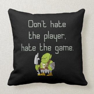 Spiel-Aussenseiter: Hassen Sie nicht den Spieler Kissen