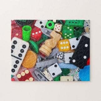 Spiel bessert Fotopuzzlespiel aus