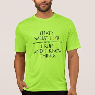 Spiel des Runhole Tech-Shirts (Grün) T-Shirt