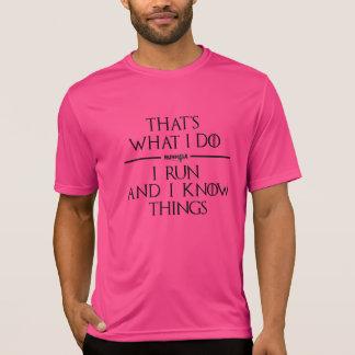 Spiel des Runhole Tech-Shirts (Rosa) T-Shirt