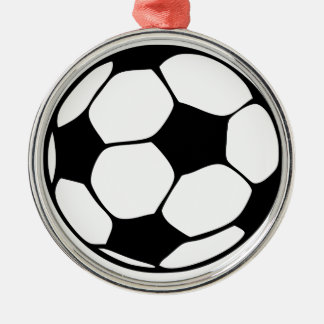 Spiel mögen ein Mädchen Silbernes Ornament
