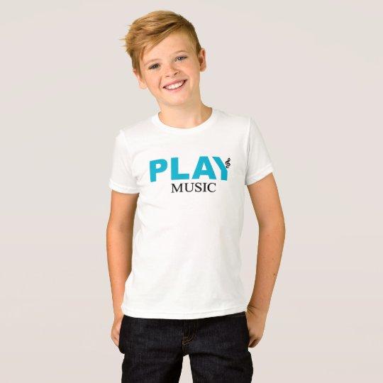 Spiel-Musik (dreifacher Clef) T-Shirt