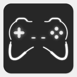 Spiel-Prüfer Quadratischer Aufkleber