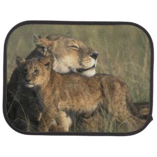 Spiel-Reserve Kenias, Masai-Mara, Löwin Autofußmatte