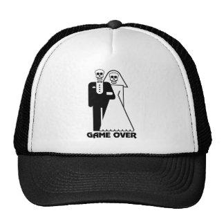 Spiel über Braut-und Bräutigam-Schädel-Hut Cap