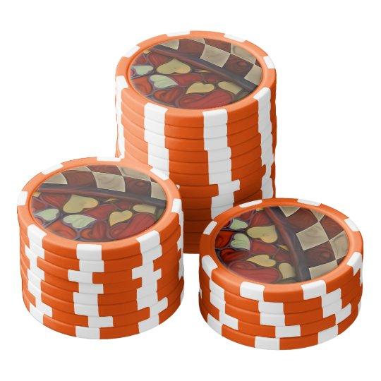 Spielen des Suchvorganges des Fell-n mit der Poker Chip Set