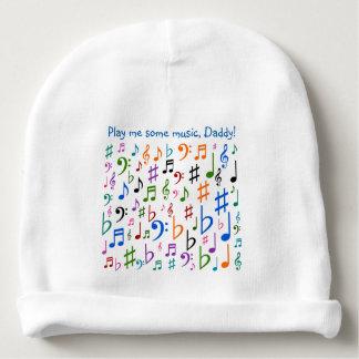 Spielen Sie mich etwas Musik, Vati! Babymütze